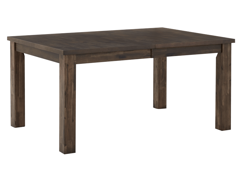 Grey-Brown Table with Central Leaf product photo other02 L