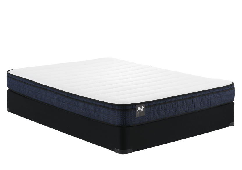 "Sealy Loveme - 9"" XL Twin Mattress and Box Spring product photo Front View L"