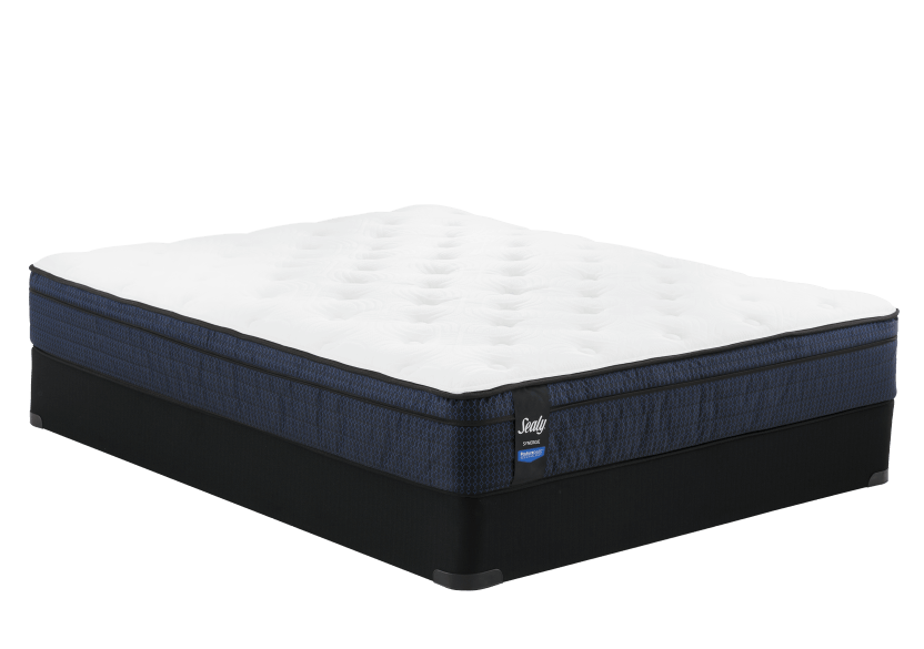 "Sealy Springhill - 9"" Double Mattress and Box Spring product photo"