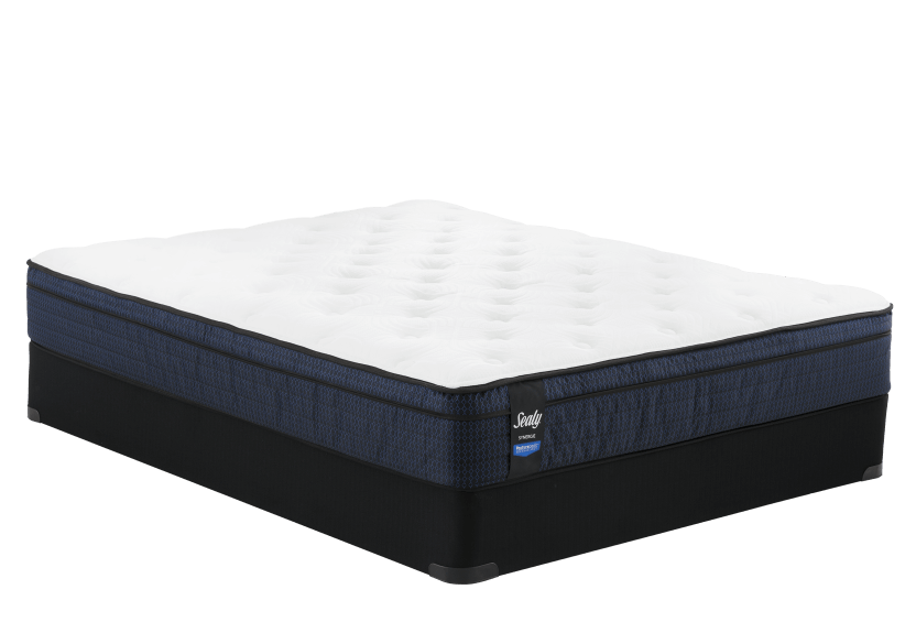 "Sealy Springhill - 5"" Queen Mattress and Box Spring product photo Front View L"