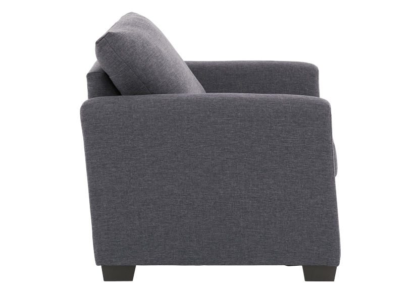 Grey Upholstered Armchair product photo other02 L