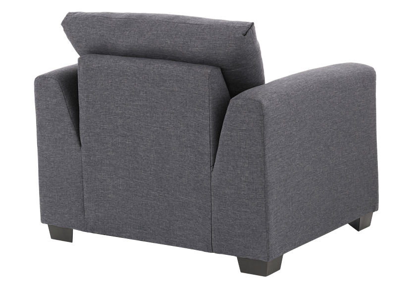 Grey Upholstered Armchair product photo other05 L