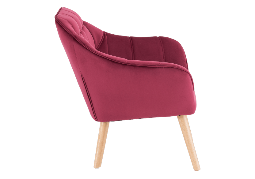 Red Upholstered Side Chair product photo other02 L