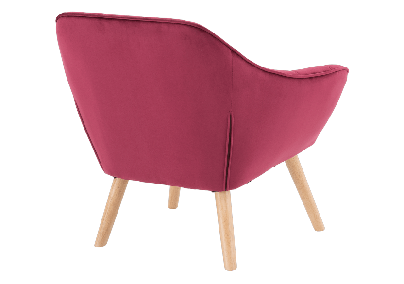 Red Upholstered Side Chair product photo other05 L