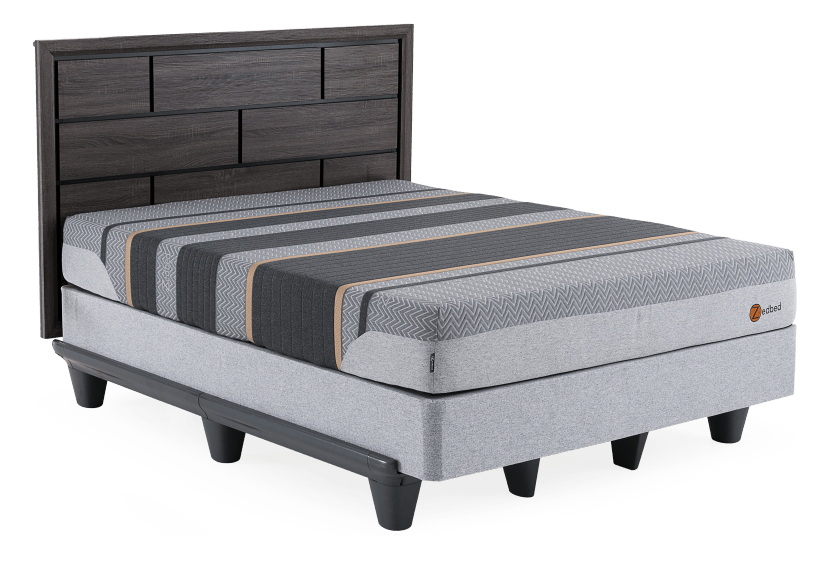 Zedbed -  Adjust Cuivre Limited - Twin Mattress product photo Front View L