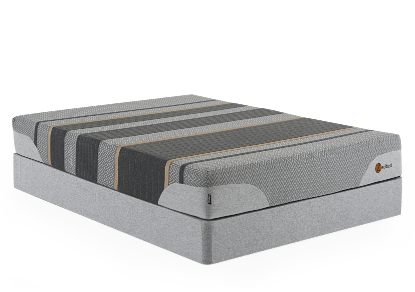 "Zedbed Zed-Cuivre Plus - 9"" King Mattress and Box Spring product photo Front View L"