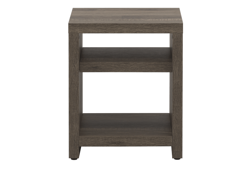 Brown End Table product photo Front View L