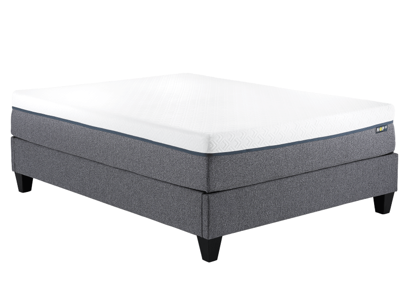Collection HOP - HOP BASE - Easy-to-assemble Bed Base for Mattress-in-a-Box - Queen product photo