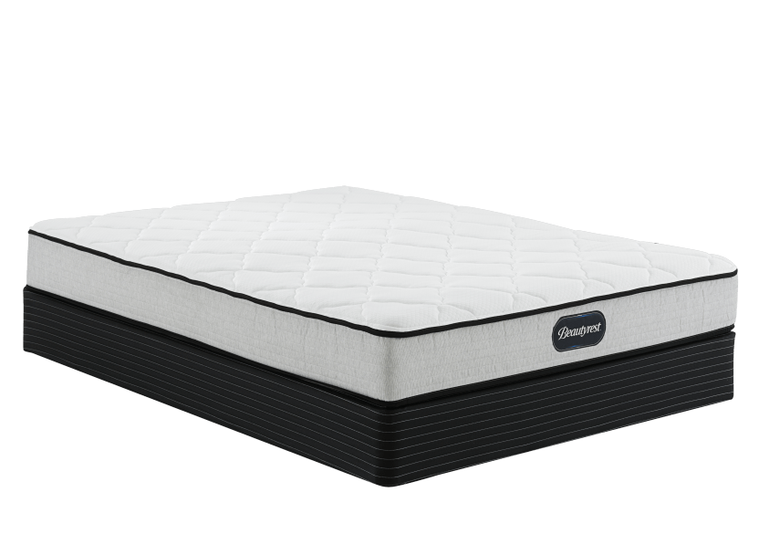 "Simmons Mica TT - 5.5"" XL Twin Mattress and Box Spring product photo Front View L"