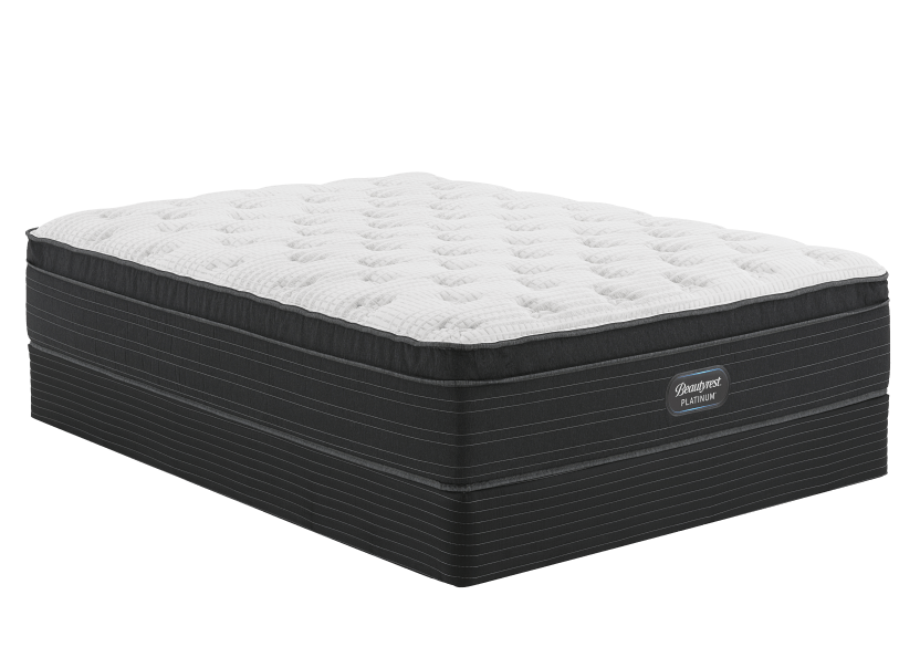 "Simmons Inisfil CT - 5.5"" Queen Mattress and Box Spring product photo Front View L"