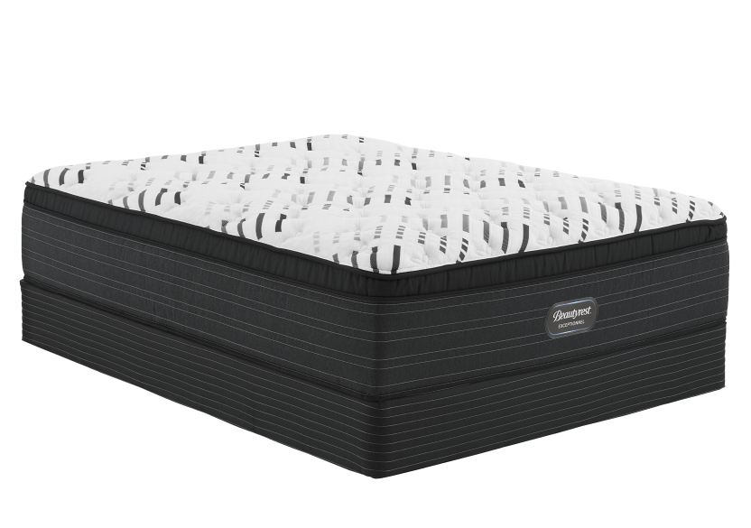 "Simmons Halton CT - 5.5"" King Mattress and Box Spring product photo Front View L"