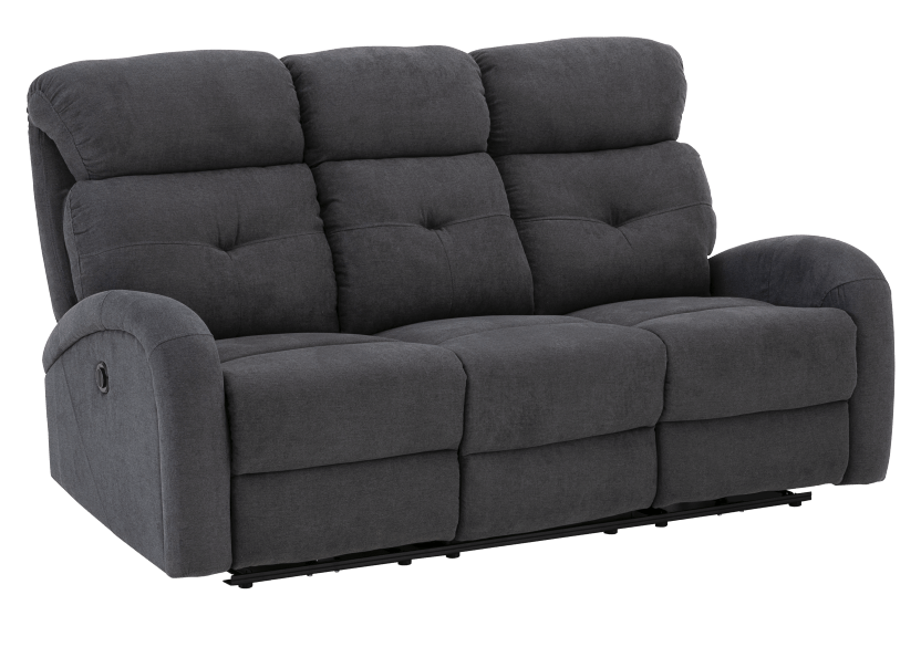 Grey Reclining and Motorized Upholstered Sofa product photo other01 L
