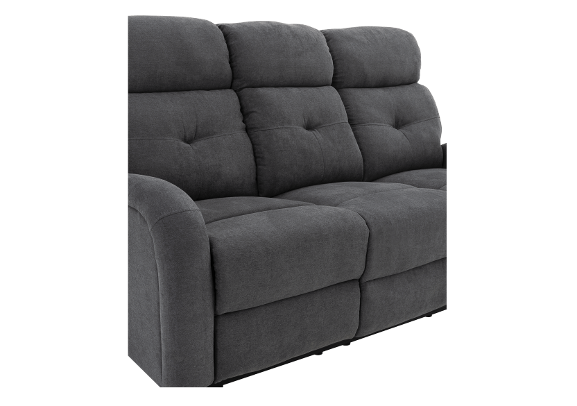 Grey Reclining and Motorized Upholstered Sofa product photo other07 L