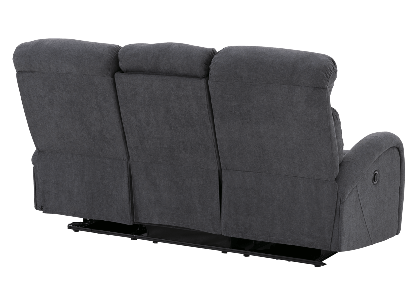 Grey Reclining and Motorized Upholstered Sofa product photo other09 L