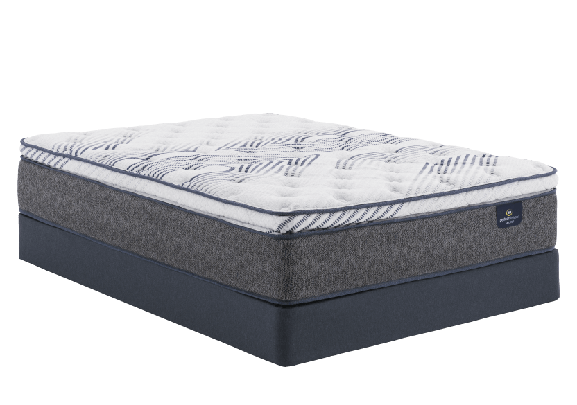 "Serta Valetta III PT - 9"" Twin Mattress and Box Spring product photo Front View L"