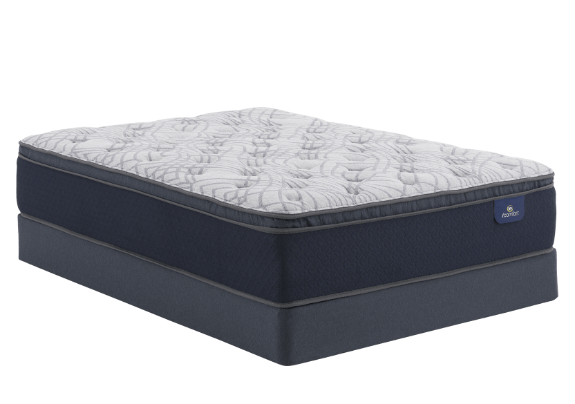"Serta Venus - 9"" Double Mattress and Box Spring product photo Front View L"