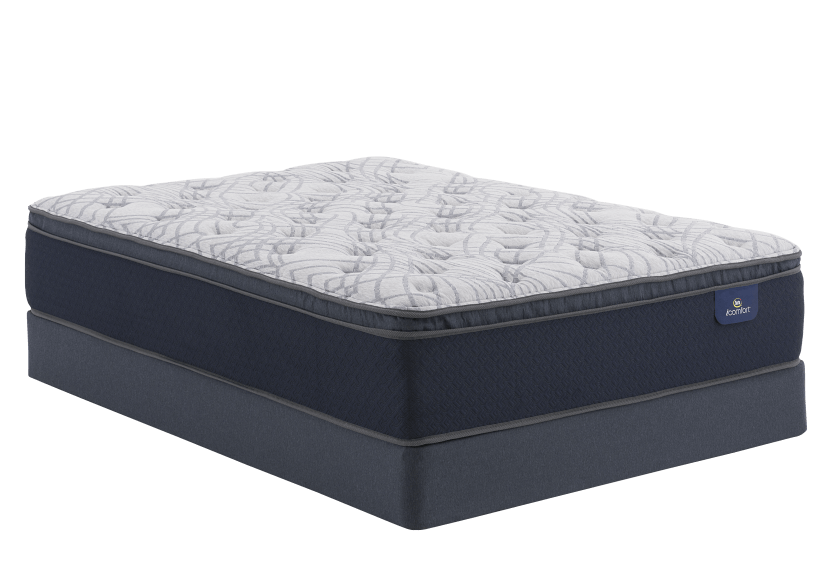 "Serta Venus - 5.5"" Queen Mattress and Box Spring product photo Front View L"
