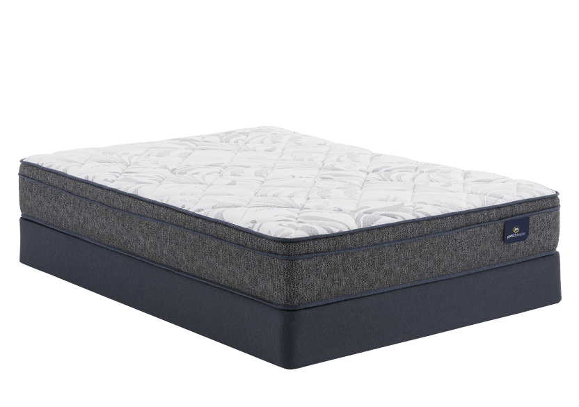 "Serta Athenes ET - 9"" Double Mattress and Box Spring product photo Front View L"