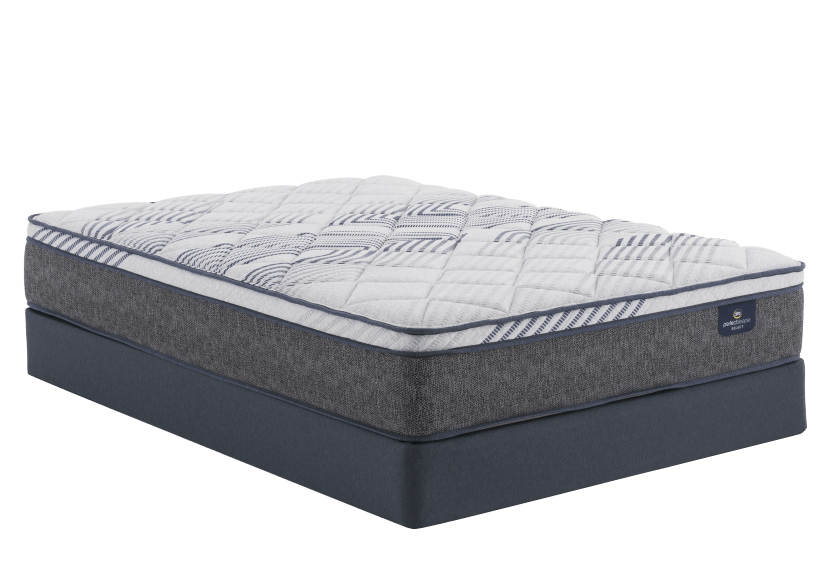 "Serta Messina II ET - 9"" Queen Mattress and Box Spring product photo Front View L"
