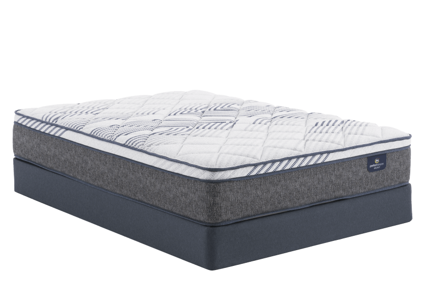"Serta Messina II ET - 9"" King Mattress and Box Spring product photo Front View L"