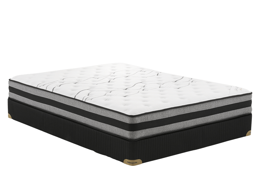 "Collection BM Saba - 3"" Queen Mattress and Box Spring product photo Front View L"