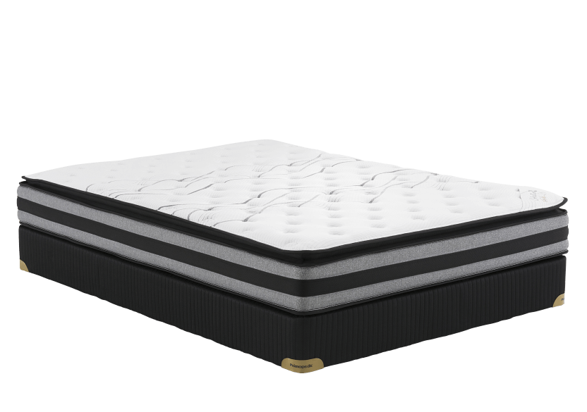 "Collection BM St-Kitts - 3"" Twin Mattress and Box Spring product photo Front View L"