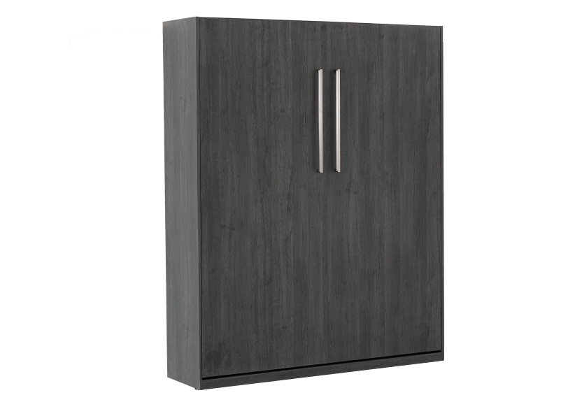Dark Grey Wall Murphy Bed - Double Bed product photo other03 L