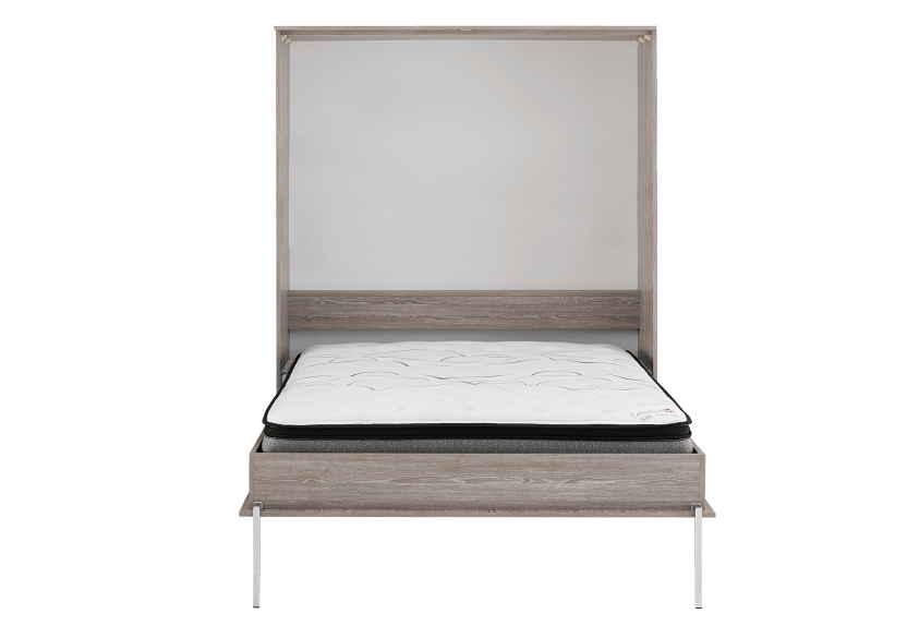 Grey Wall Murphy Bed - Double Bed product photo other01 L