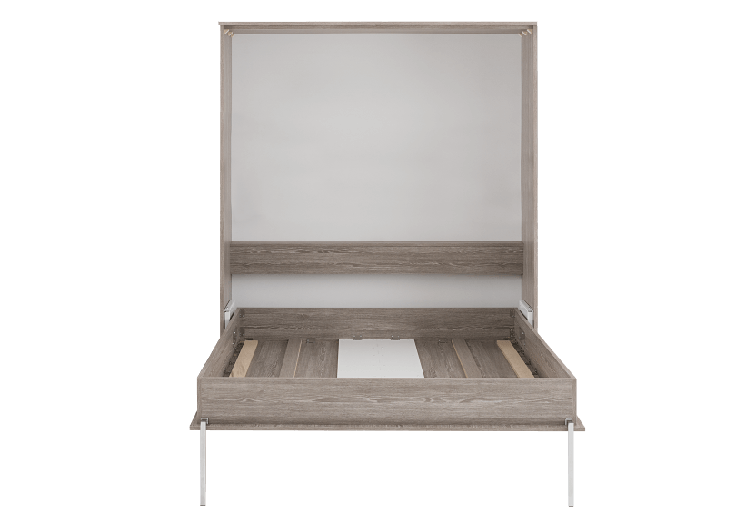 Grey Wall Murphy Bed - Double Bed product photo other02 L