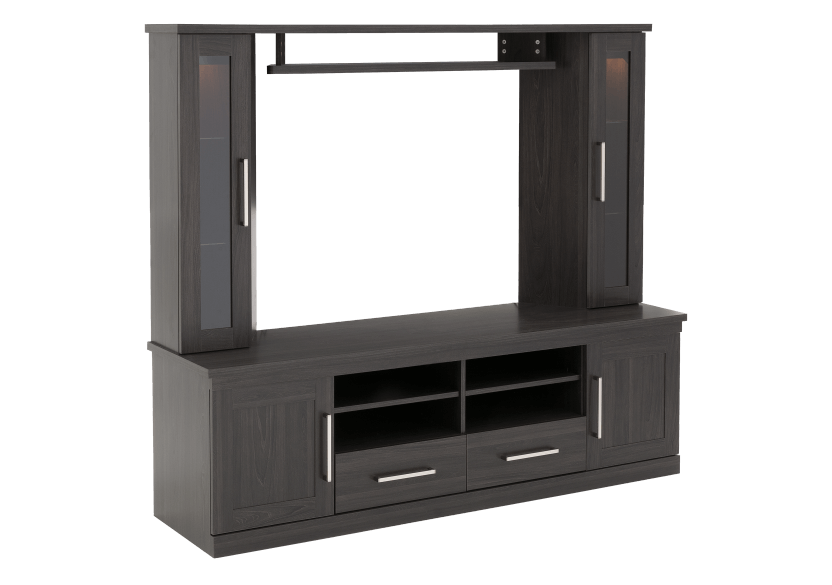 Dark Grey TV Stand with Storage product photo other01 L