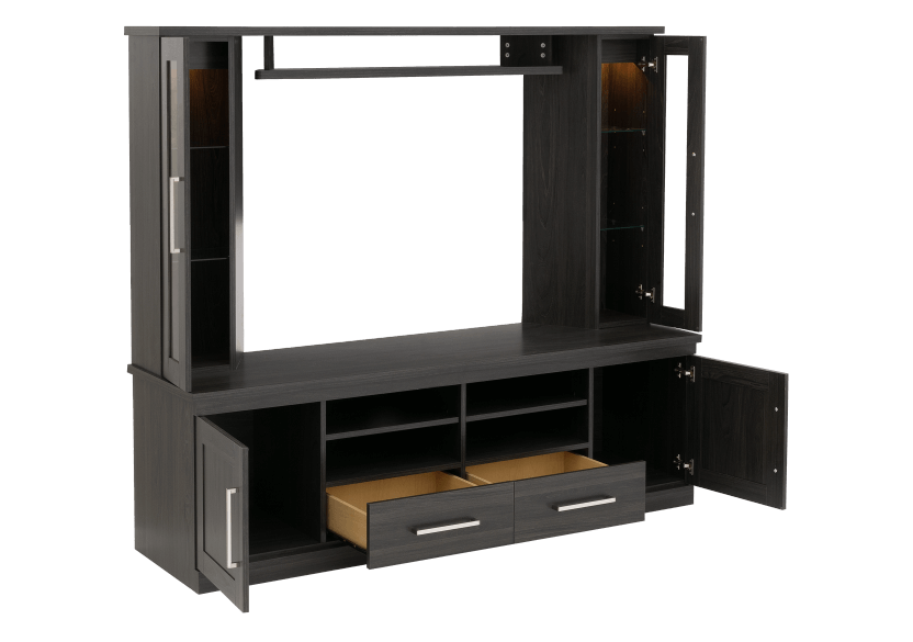 Dark Grey TV Stand with Storage product photo other02 L