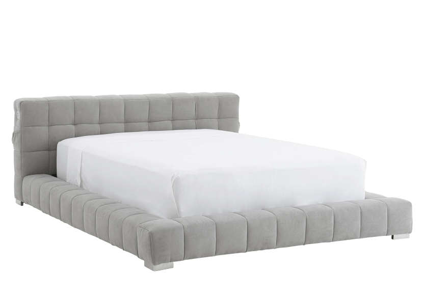 Grey Upholstered - Queen Bed product photo other01 L