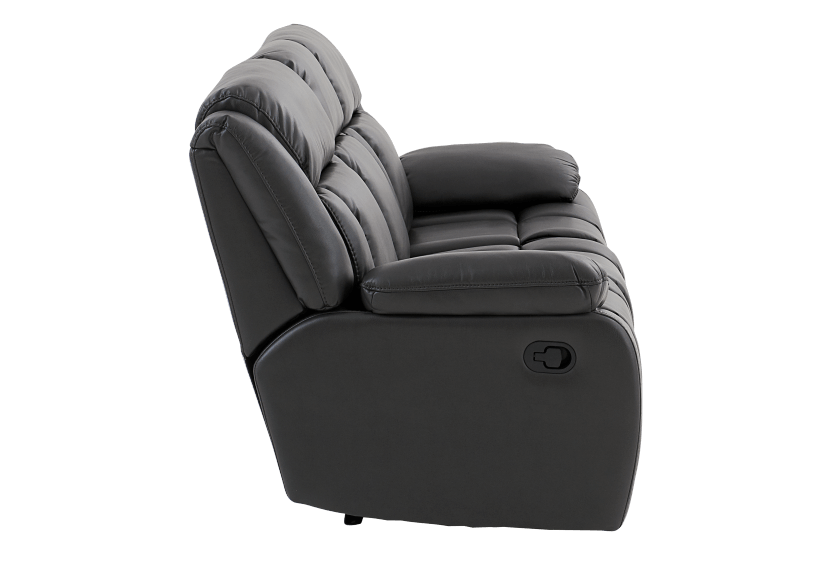 Dark Grey Reclining Loveseat product photo other03 L
