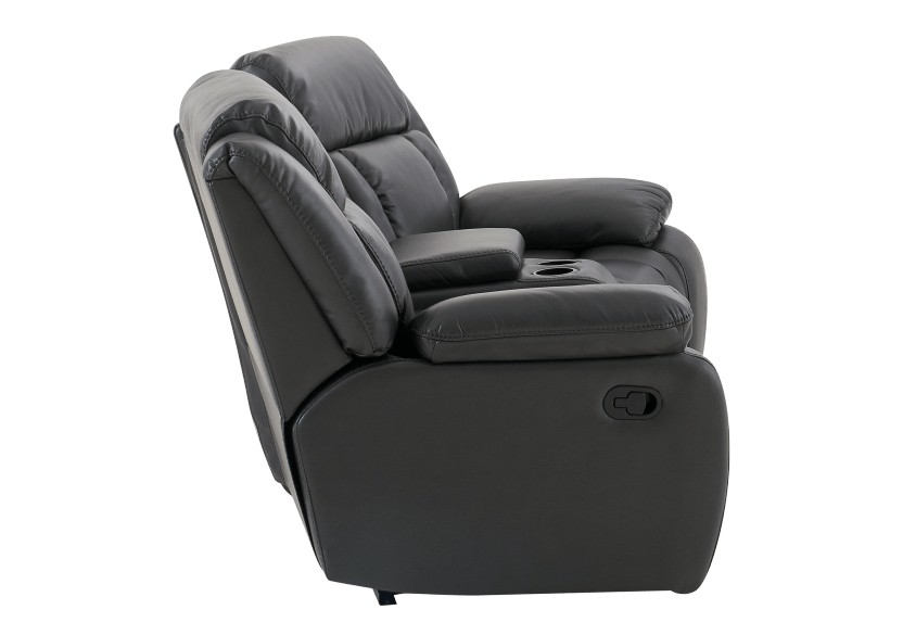 Dark Grey Reclining Loveseat product photo other02 L