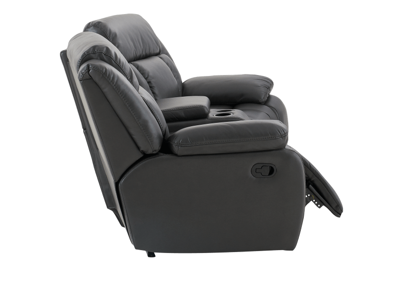 Dark Grey Reclining Loveseat product photo other04 L