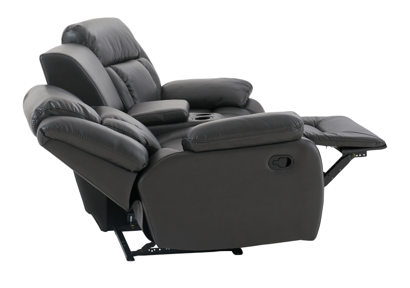 Dark Grey Reclining Loveseat product photo other06 L