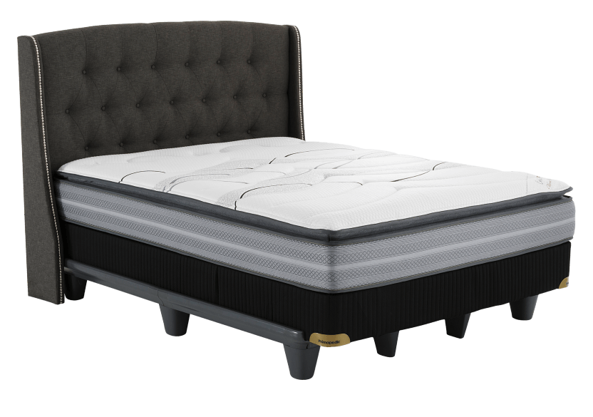 Collection BM - Monte Carlo2 - Twin Mattress product photo Front View L