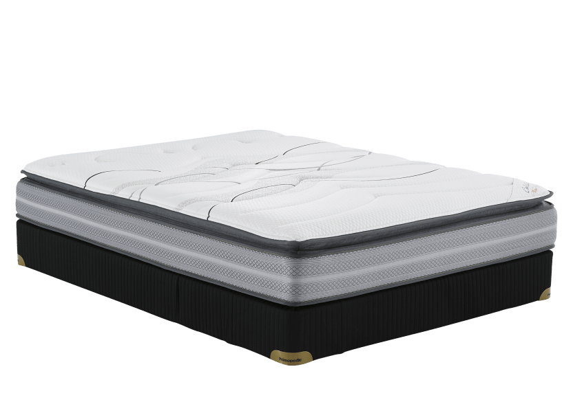 "Collection BM New York2 - 3"" Double Mattress and Box Spring product photo Front View L"