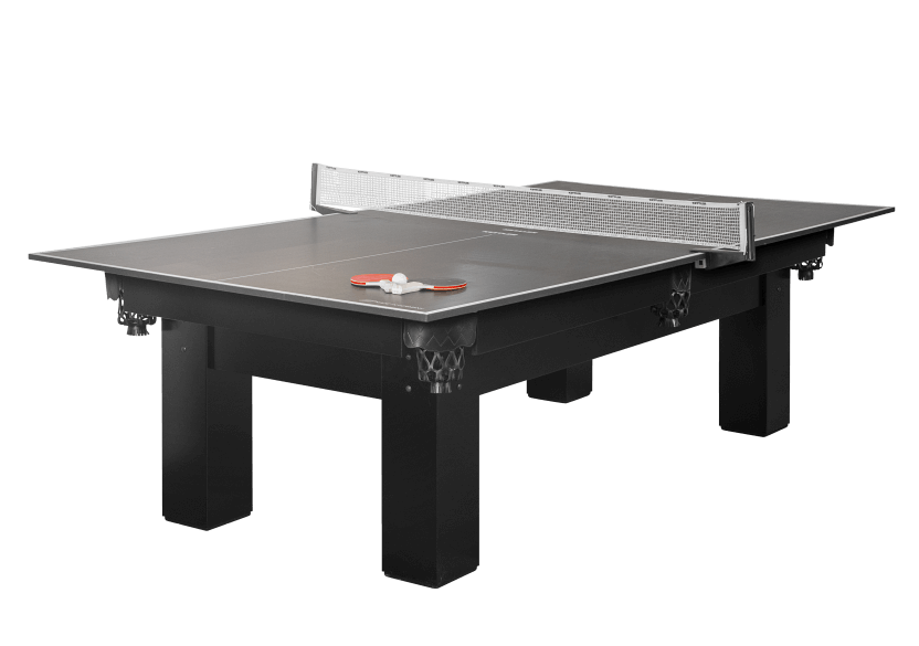 Black Table Tennis Tabletop for 2-in-1 Pool Table product photo