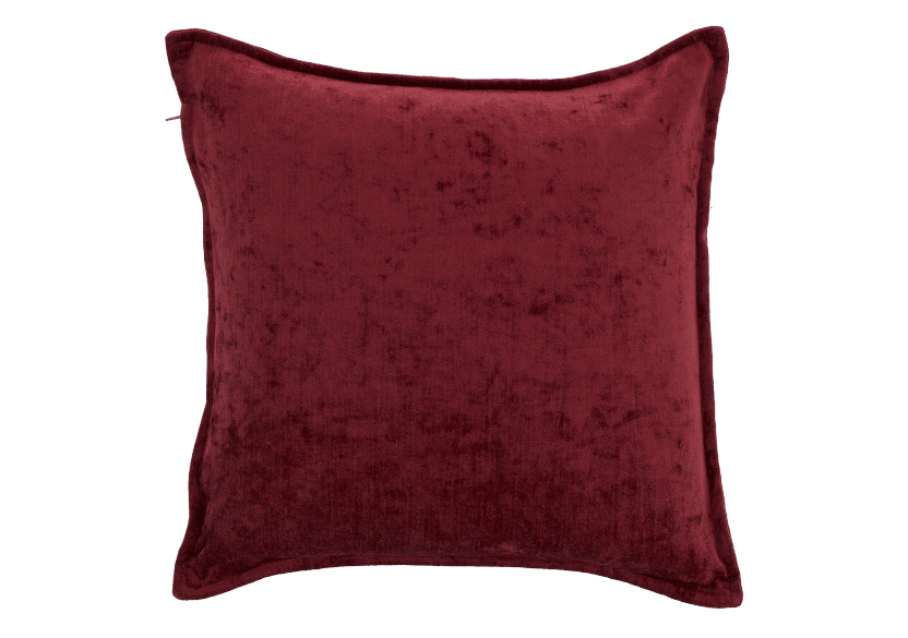 "18x18"" Red Decorative Pillow product photo Front View L"
