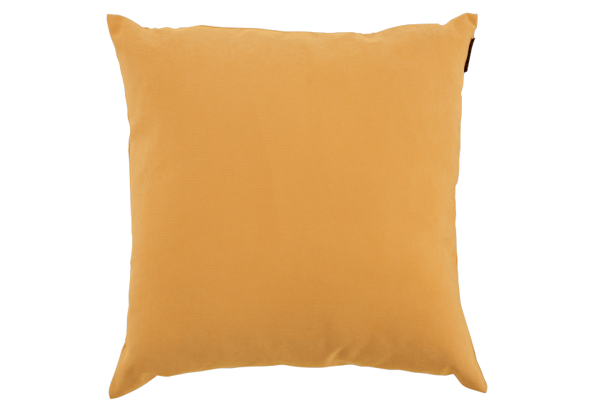 "20x20"" Yellow Decorative Pillow product photo Front View L"