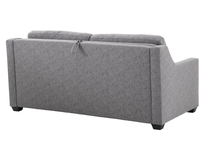 Grey Upholstered Sofa-Bed - Double Bed product photo other06 L