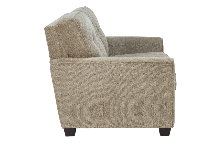 Beige Upholstered Loveseat product photo other02 L