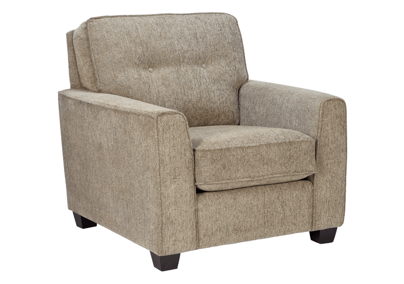 Beige Upholstered Armchair product photo other01 L