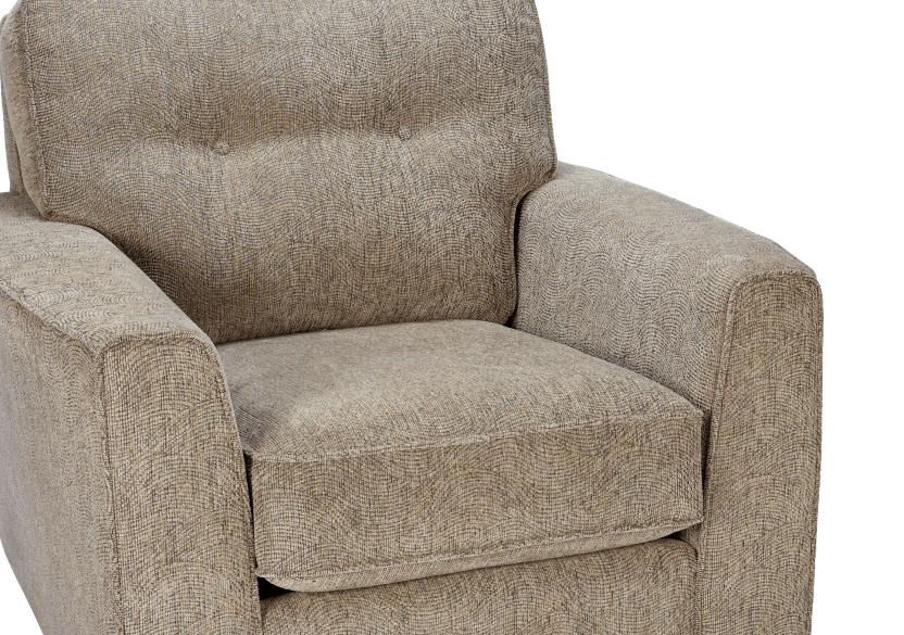 Beige Upholstered Armchair product photo other03 L