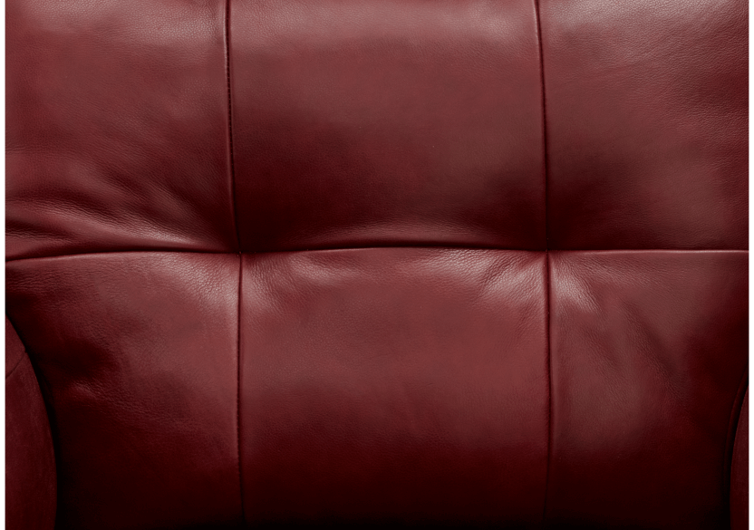 Red Leather Loveseat product photo other04 L
