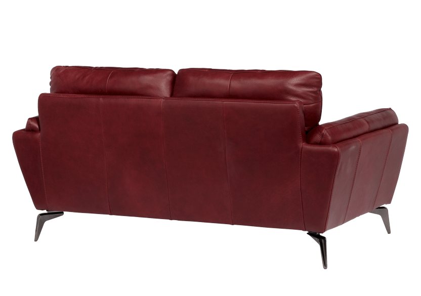 Red Leather Loveseat product photo other05 L