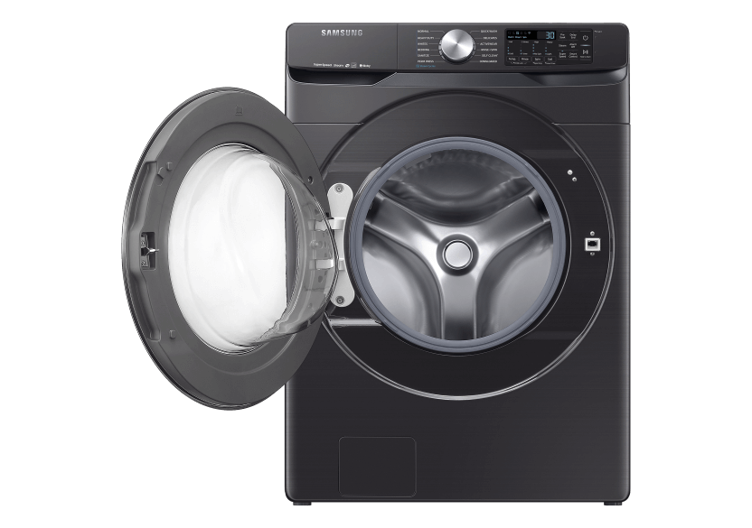 Samsung Front Load Washer - WF45R6300AVUS product photo other01 L