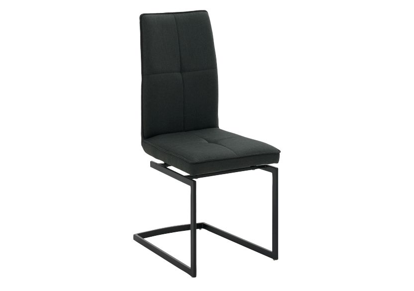 Dark Grey Upholstered Chair product photo other01 L