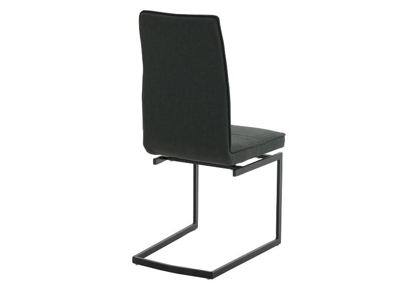 Dark Grey Upholstered Chair product photo other03 L
